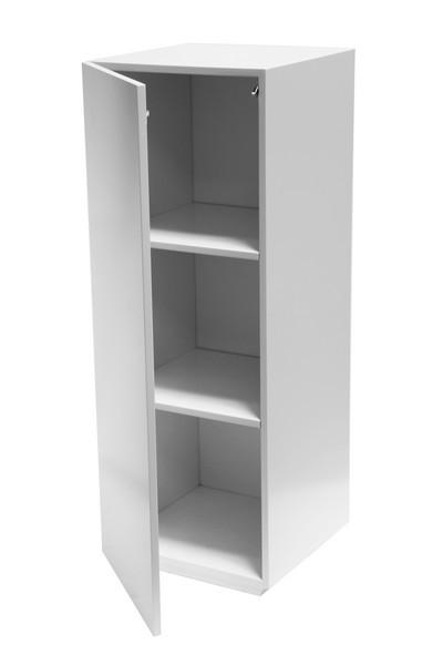 Pidestall med skap hvit