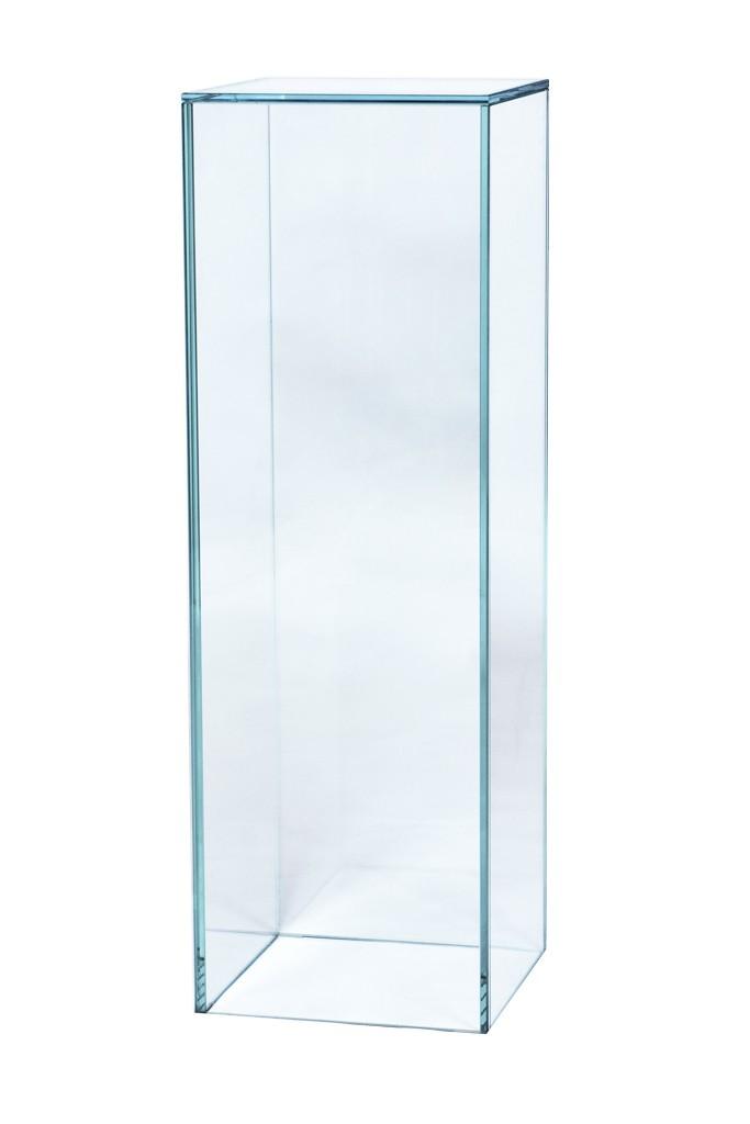 Pidestall i glass