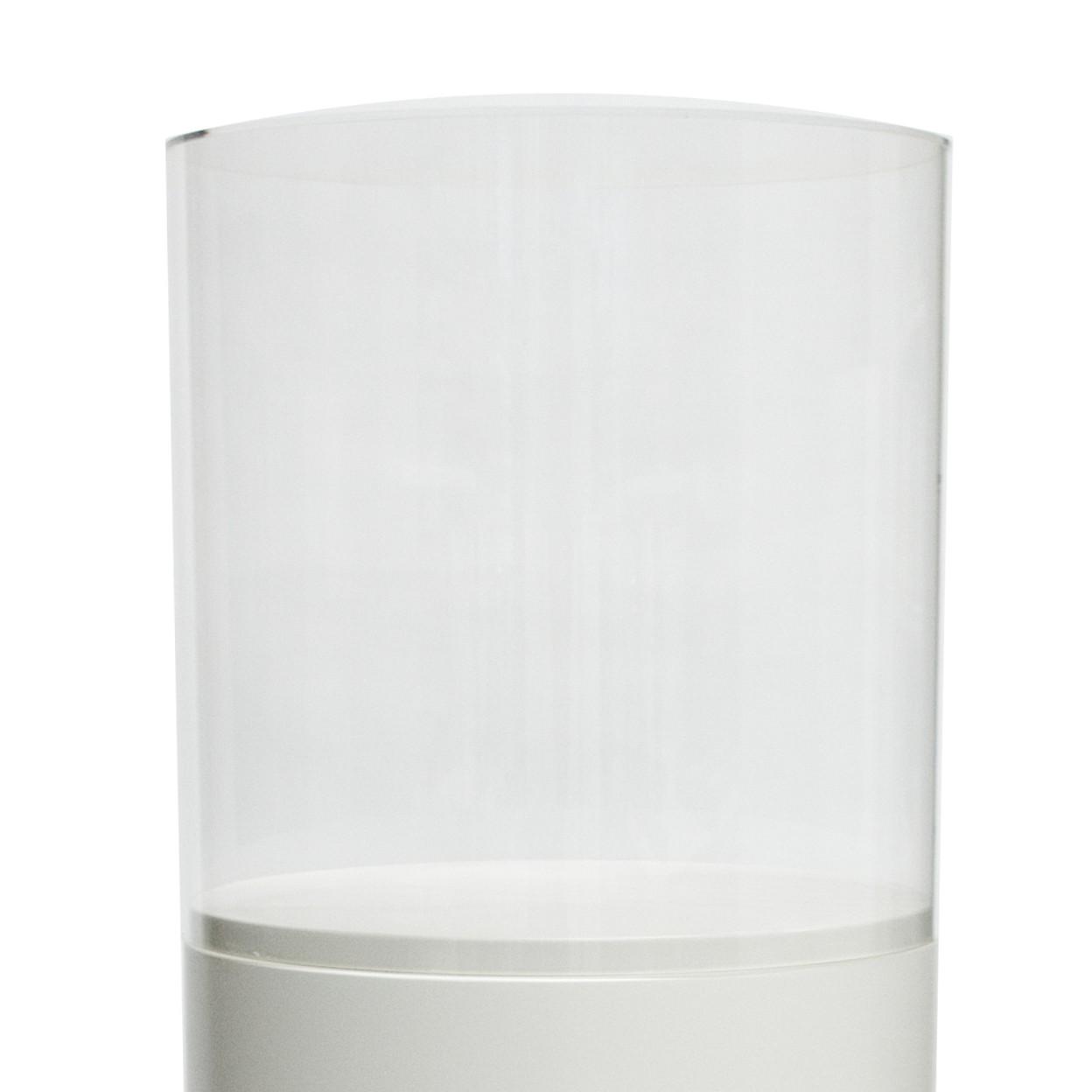 Pleksiglassmonter, rund